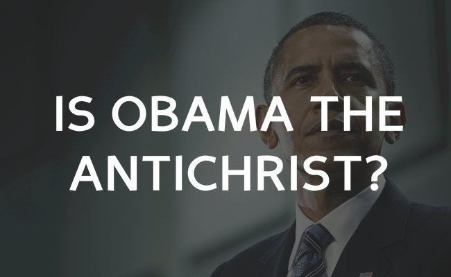 Obama Is Not The Antichrist, He's The Seventh King Before ...